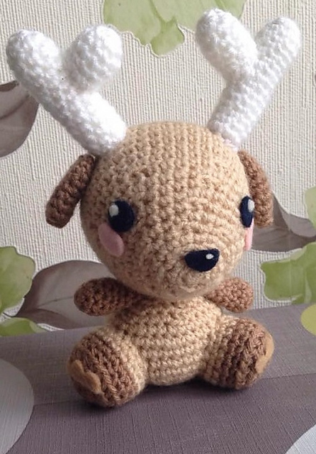 Free Printable Amigurumi Animal Patterns : 20 Crochet Reindeer Patterns - Page 3 of 3