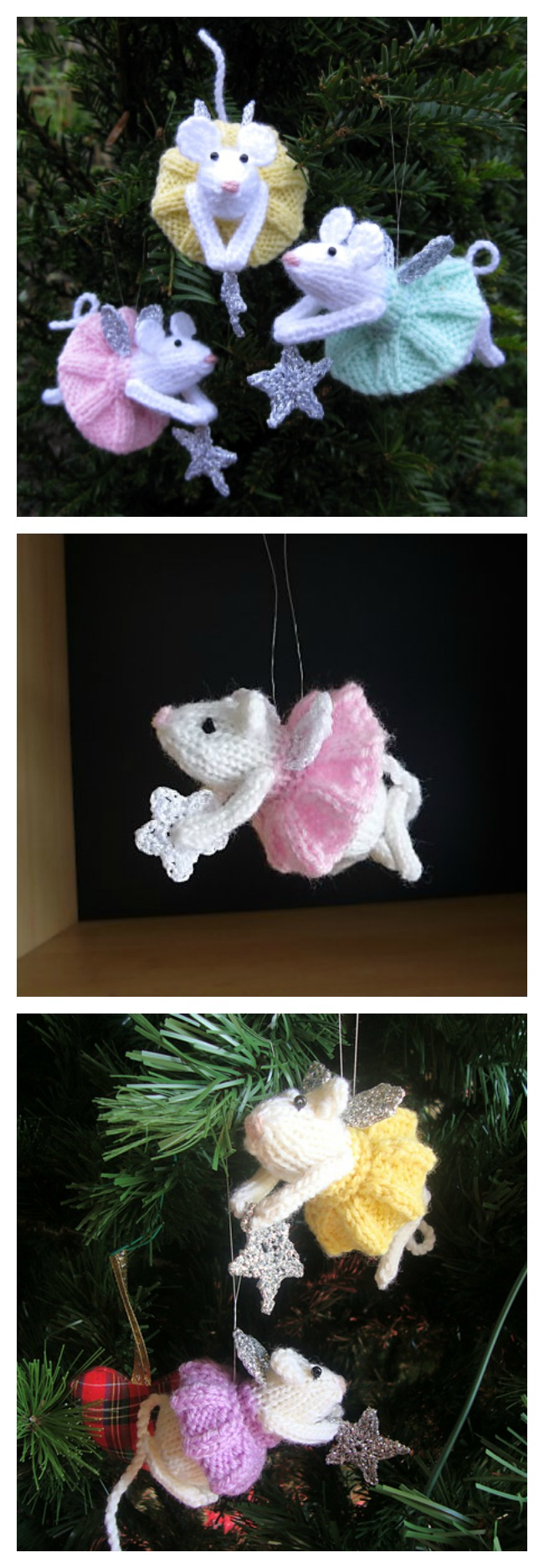 Free Furry Fairies Christmas Ornament Knitting Patterns - Cool ...