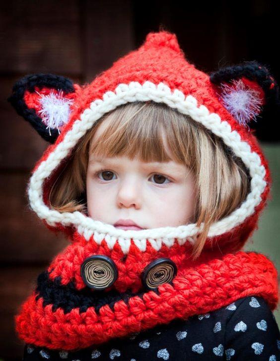 Freebie Hooded Fox Cowl Free Crochet Pattern Cool Creativities