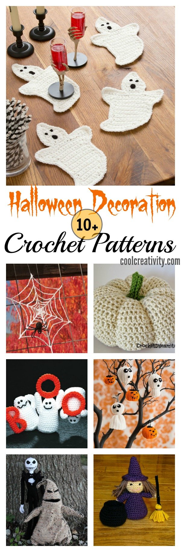 Halloween Decoration Crochet Patterns