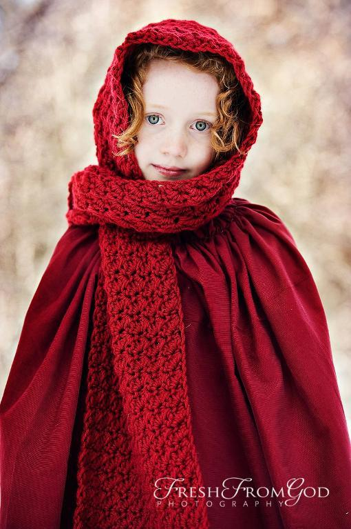 Crochet Pattern For Scarf Hood : 10+ Crochet Hooded Scarves and Cowls Patterns - Page 2 of 2