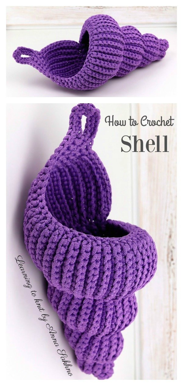 How to Crochet Shell