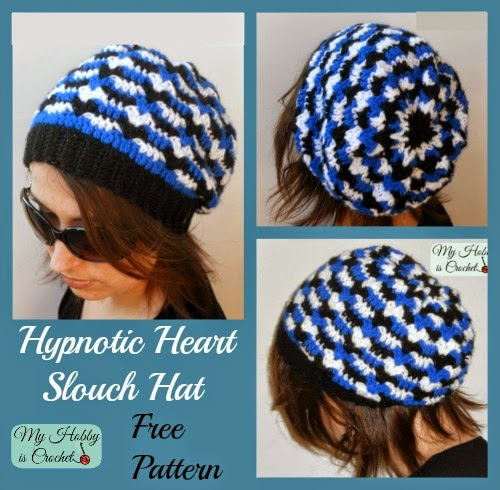 Free Crochet Heart Hat Pattern : Slouchy Crochet Hat Patterns to Keep Warm and Fancy - Page ...