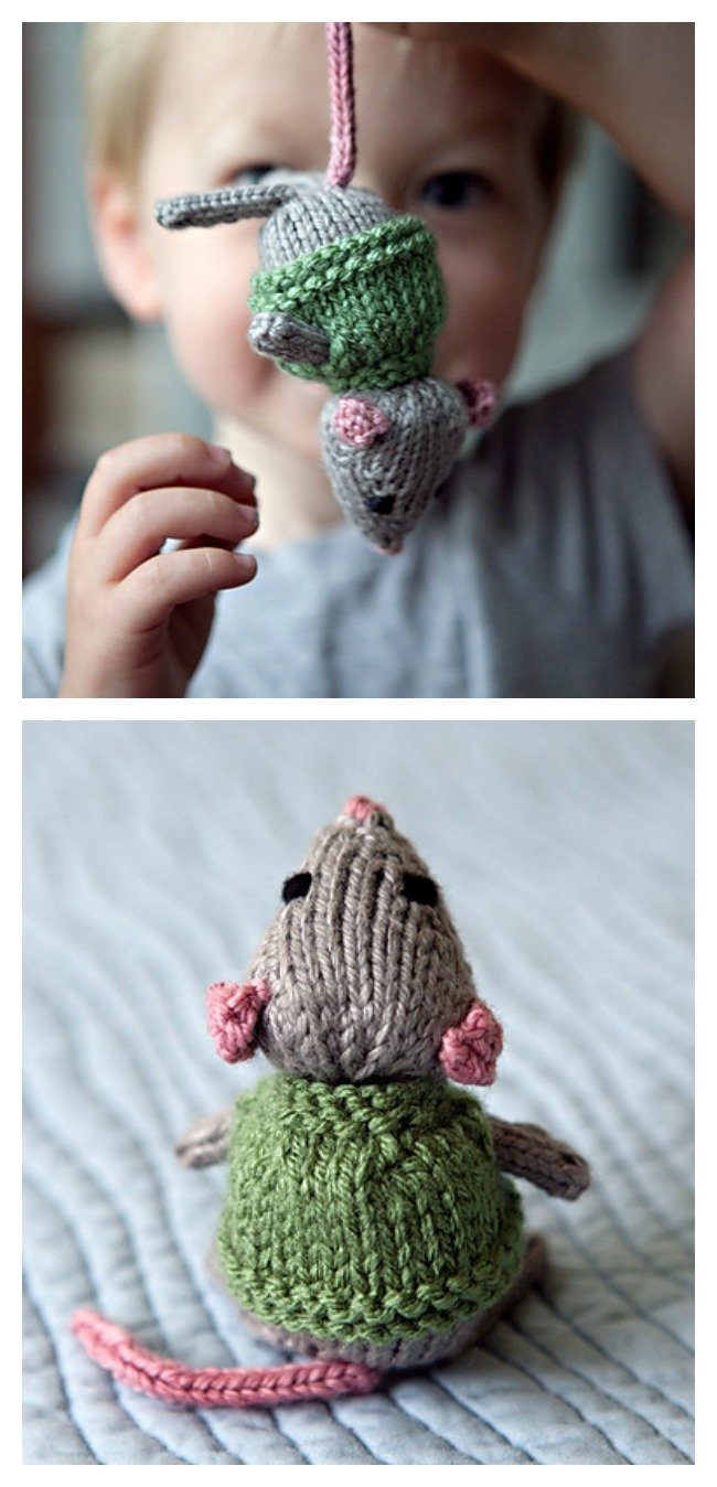 Free Knitting Patterns Mens Jumpers : Free Furry Fairies Christmas Ornament Knitting Patterns