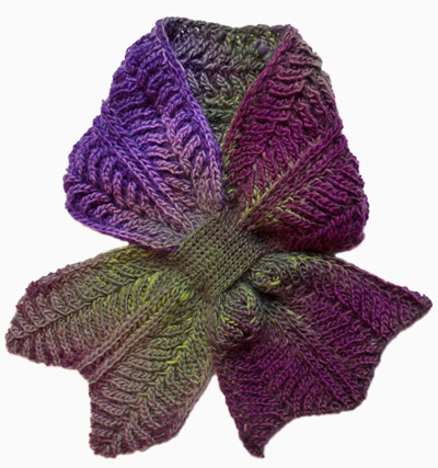 Knitting Brioche Stitch Scarf : 10+ Keyhole Scarves and Shawl Knitting Patterns