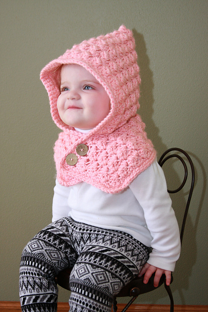Free Crochet Pattern Toddler Hooded Cowl : 10+ Crochet Hooded Scarves and Cowls Patterns