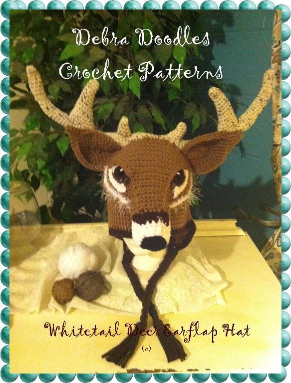 Whitetail Deer Crochet Hat Pattern