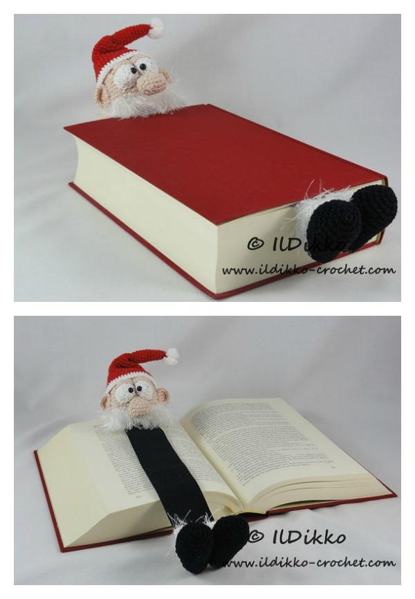 Adorable Santa Bookmark Crochet Pattern