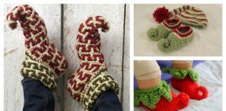 Elf Slippers Free Crochet Patterns