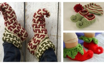 Elf Slippers Free Crochet Patterns