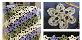 How to Crochet Japanese Pastel Wooly Flowers