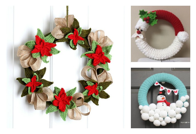 10 Christmas Wreath Crochet Patterns Cool Creativities