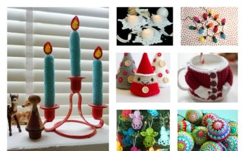 10+ Fast and Easy Christmas Crochet Free Patterns for Last Minutes