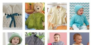 10+ Free Baby Sweater Knitting Patterns