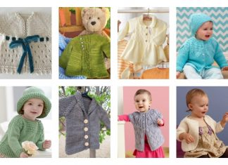 10+ Free Baby Sweater Knitting Patterns