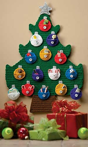 Advent Calendar Crochet Pattern