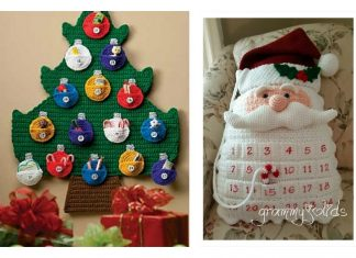 Advent Countdown Calendar Crochet Pattern