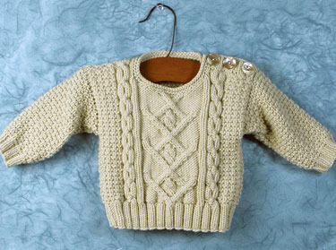 Childs Aran Jumper Knitting Pattern : 10+ Free Baby Sweater Knitting Patterns