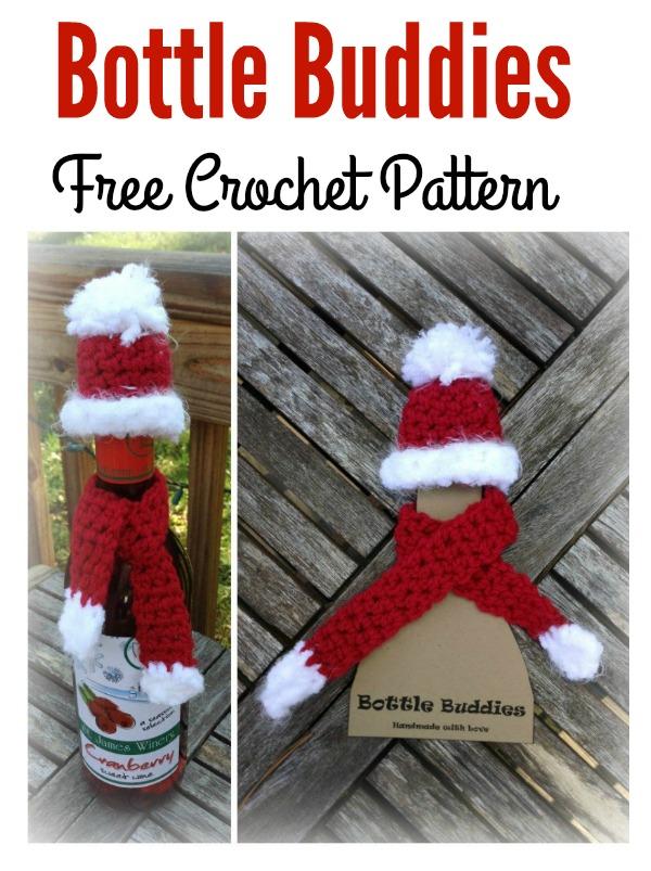 Bottle Buddies Free Crochet Pattern