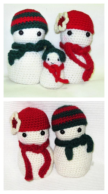 10 Crochet Amigurumi Snowman Free Patterns - Page 2 of 2