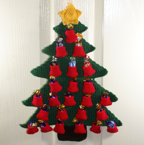 Christmas Tree Advent Calendar Free Crochet Pattern