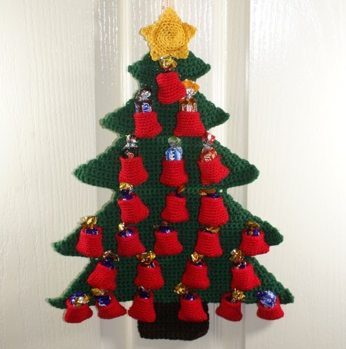 Knitting Pattern Christmas Advent Calendar : Advent Countdown Calendar Crochet Pattern