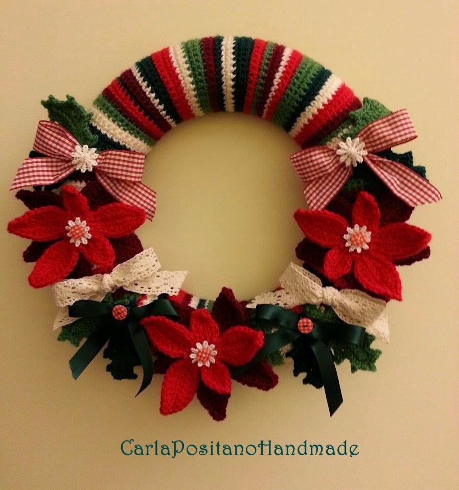 Christmas Wreath Free Crochet Pattern