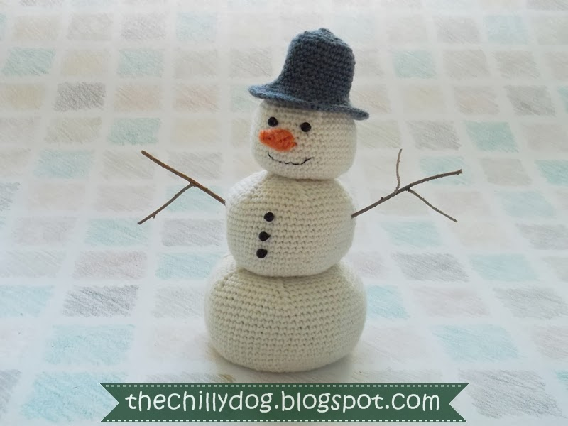 10 Crochet Amigurumi Snowman Free Patterns - Page 2 of 2