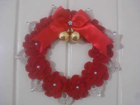 Crochet Christmas Wreath Video Tutorial