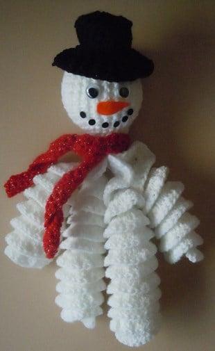 Amigurumi Snowman Ornament : 10 Crochet Amigurumi Snowman Free Patterns - Page 2 of 2
