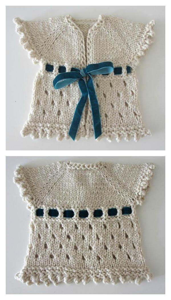 Dirghagama Baby Cardigan Sweater Free Knitting Pattern