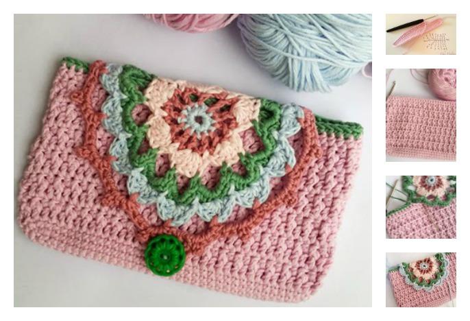 Fancy Phone Case Free Crochet Pattern