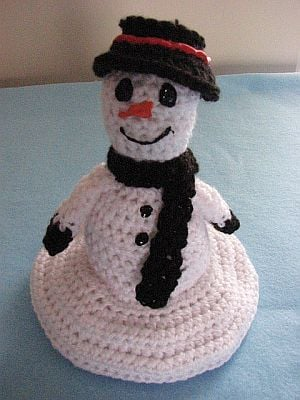 Melting Snowman Free Crochet Pattern Cool Creativities