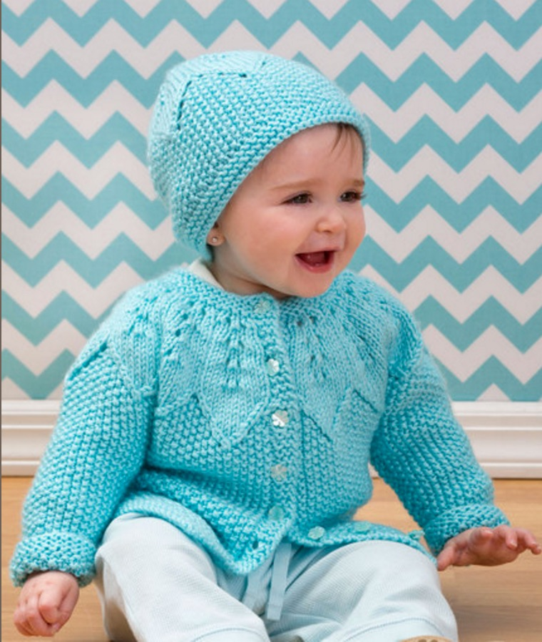 Knitting Cardigan For Baby : Free baby sweater knitting patterns page of