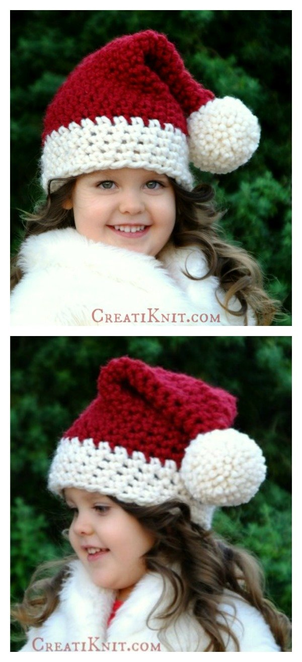 The Santa Hat Free Crochet Pattern