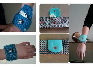 Wrist Wallet Free Pattern