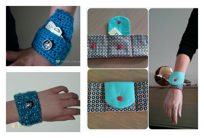 Diy Wrist Wallet Free Pattern