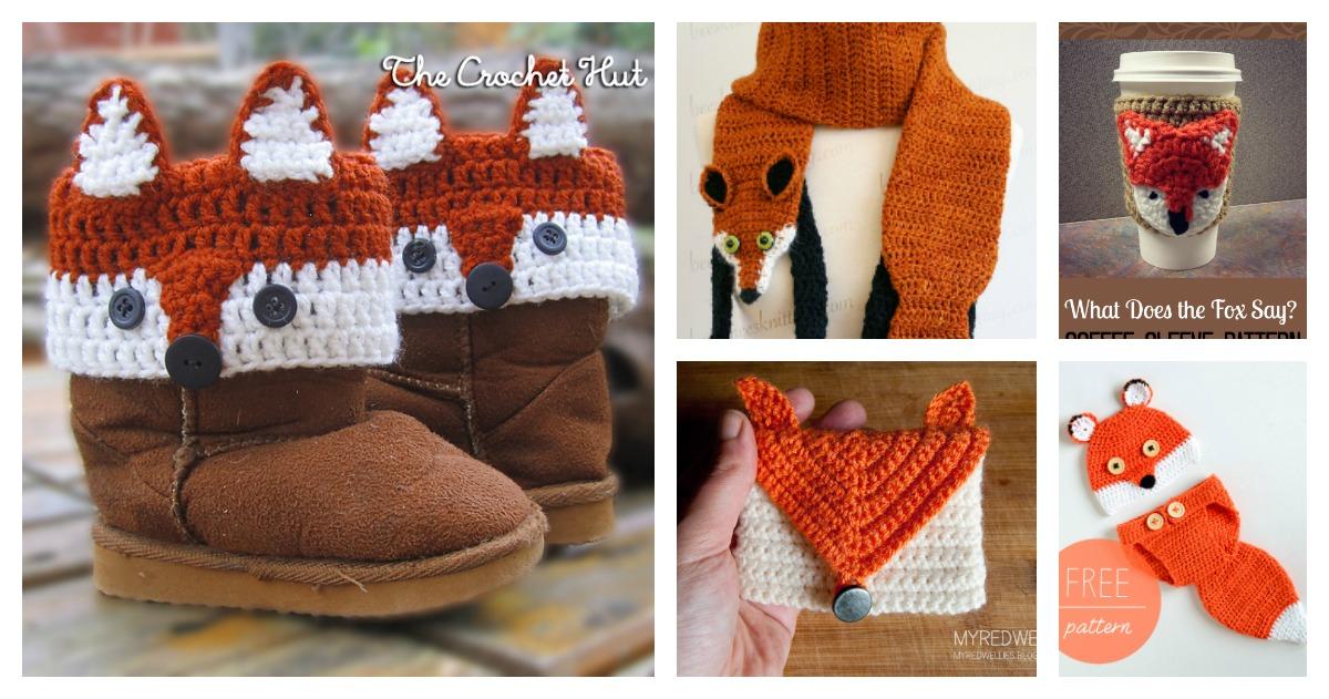 10 Crochet Fox Patterns Cool Creativities