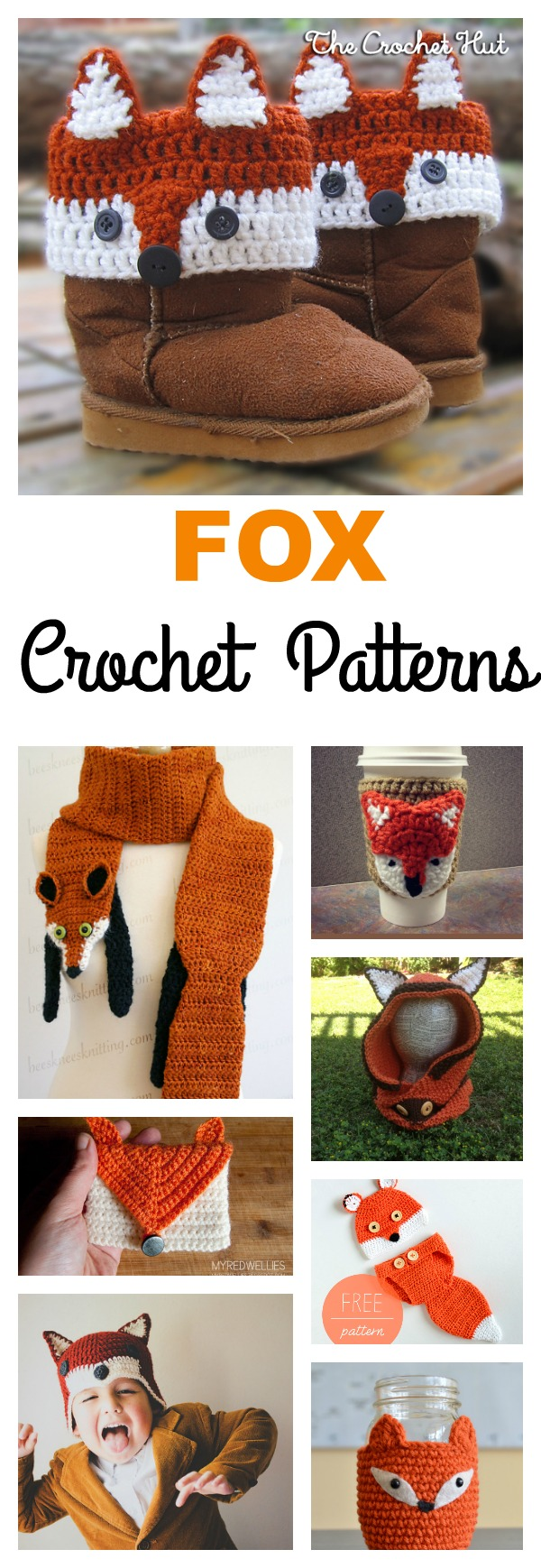 10 Crochet Fox Patterns