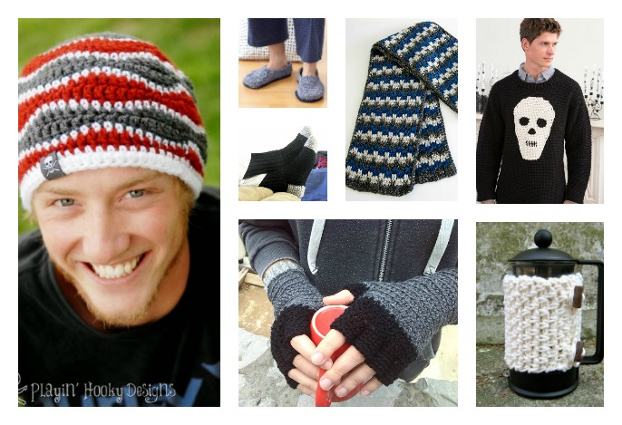 10 Free Men S Crochet Patterns For Holiday Gift Ideas