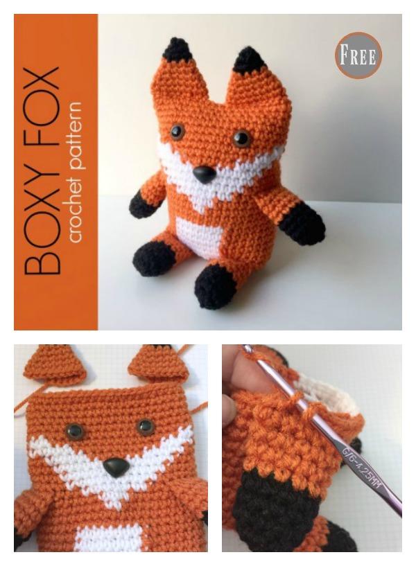 Boxy Fox Amigurumi Free Crochet Pattern