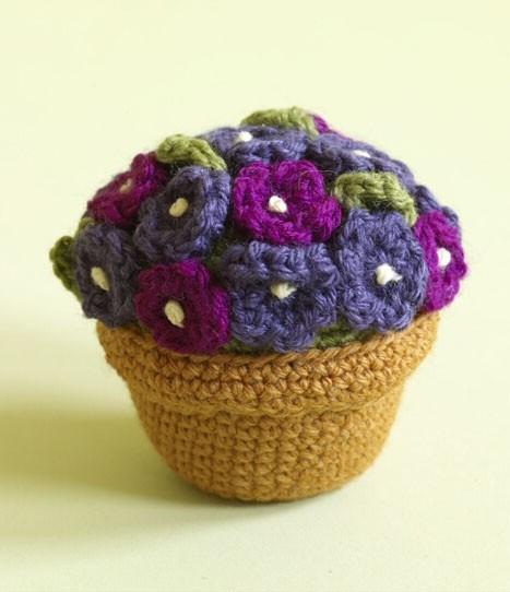 Crochet Amigurumi Potted Plant Free Pattern