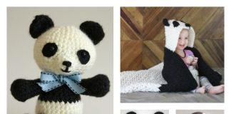 Cute Crochet Panda Free Patterns