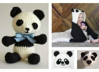 Cute Crochet Panda Free Patterns