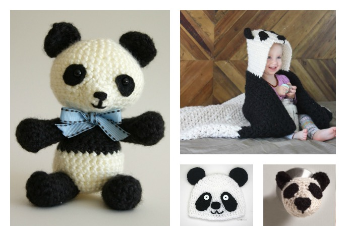 Cute Crochet Panda Free Patterns Cool Creativities