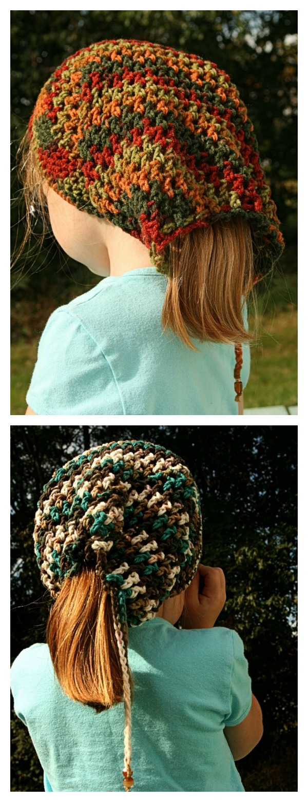 Crochet Head Huggers Hat Free Pattern