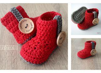 Crochet Baby Bootie Free Pattern