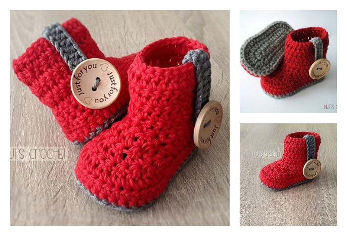 Crochet Baby Bootie Free Pattern Cool Creativities