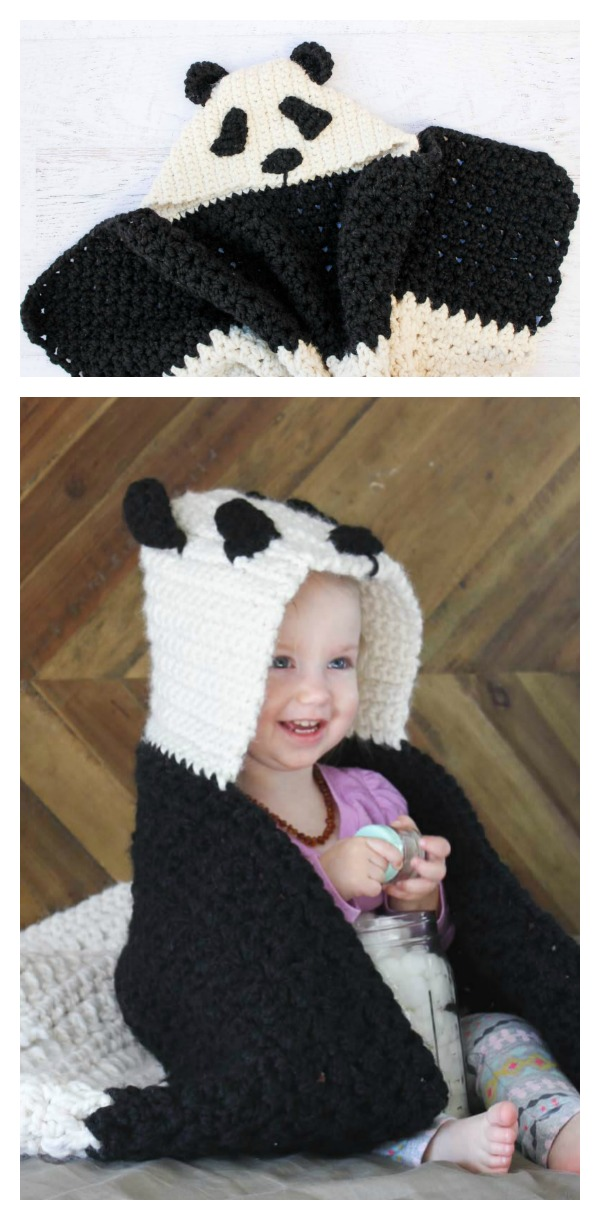 Free Crochet Panda Afghan Patterns : Cute Crochet Panda Free Patterns