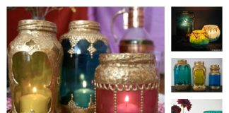 DIY Beautiful Moroccan Candle Holder